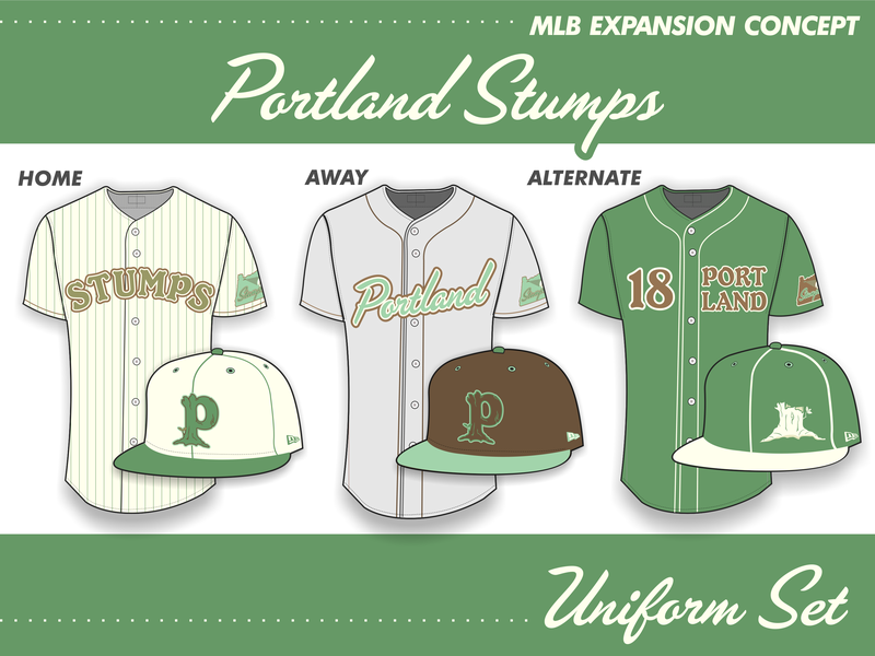 Portland Stumps Uniform Set