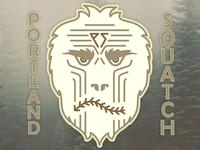 Portland Squatch Baseball Club: Hat Logo