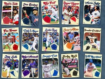 Baseball Radar Charts: 15 cards