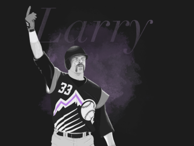 Larry Walker 2020 Hall of Fame Inductee