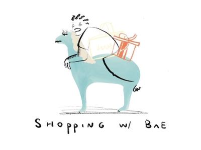 Shopping w/ Bae