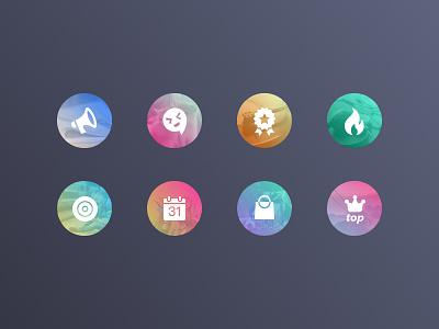 DailyUI/003 icon picture color flat nav app ios icon