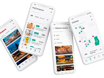 Campona app navigation bar ux  ui mobile application mobile design application app design mobile app design tab bar tab navigation ux ux design uiux ui mobile ui mobile app app mobile
