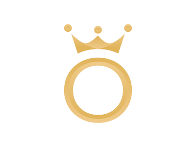 Crown logo symbol crown logo icon design icon symbol icon logodesign gradient light crown logo symbol 3d