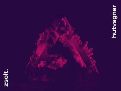 hutv▵gner logo water paint