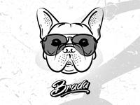 brada ✖️ frenchie shirt design