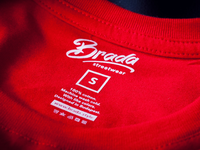 BRADA clothing label