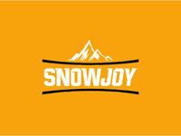 snowjoy logo branding