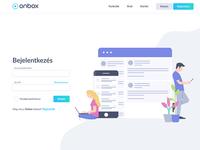 onbox login page