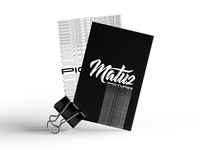matuz pictures business card