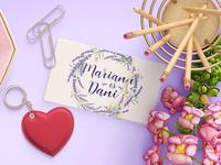 wedding card name