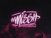 missh music logo branding