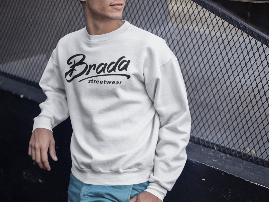 Brada Streetwear logo clothing brand street wear streetwear urban brada shirt jumper sweatshirt clothing design clothing logo branding