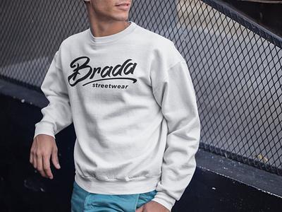 Brada Streetwear logo clothing brand street wear streetwear urban brada shirt jumper sweatshirt clothing design clothing logo branding