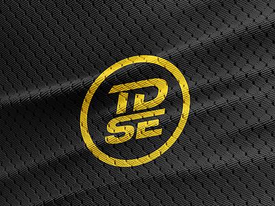 TDSE brand identity lettering design dark yellow circle circle logo typedesign branding design brand identity brand design branding brand logodesign logo design logotype logo