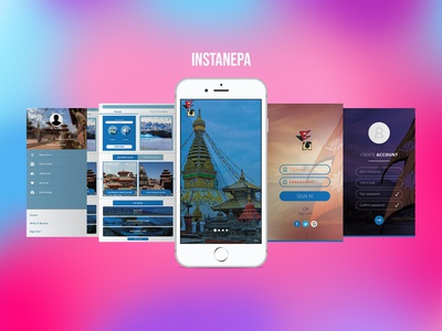 UI Design for Instanepa