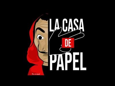LA CASA DE PAPEL nepal design graphics graphicdesign art vector illustrator illustration lacasadepapel moneyheist