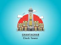 Clocktower Vector Illustration
