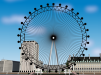 London Eye Illustration
