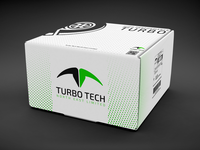 Turbo Tech - Logo Design car turbo performance vector minimalist seller mockup logos branding logodesigner logodesign graphic flat logo graphicdesigner graphicdesign design