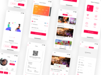 Events app UI design