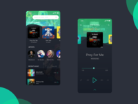 Music Player App Design
