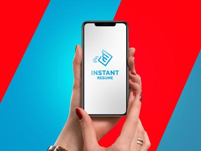 Instant Resume Logo