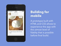 2013 - Prototyping for mobile
