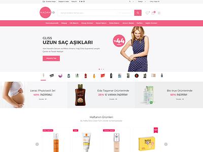 Madam10 Ecommerce UI Design web design ecommerce ui