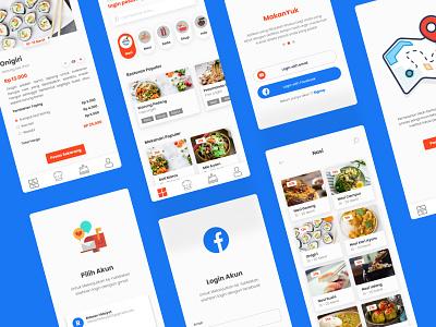 MakanYuk App app design design uidesign ui