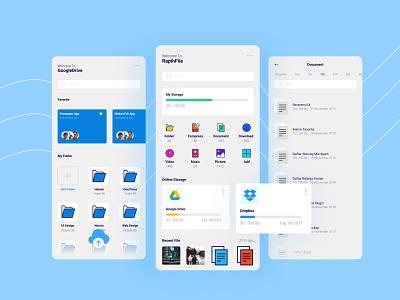 RapihFile App icon app design design uidesign ui