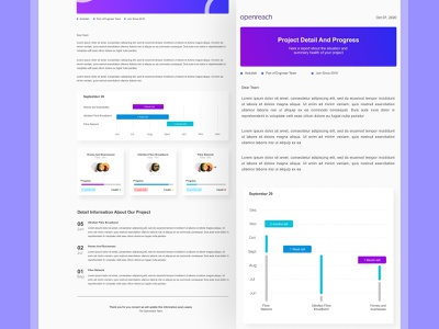 Email template for web and mobile web design design uidesign ui
