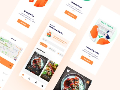 Delivers Apps app design design uidesign ui