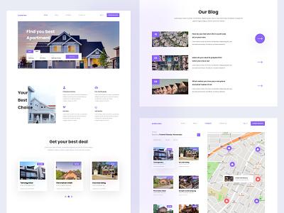 Estate Men - Real Estate Responsive Website web design design uidesign ui