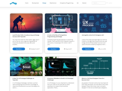 Design tap for Education center web design design ui uidesign