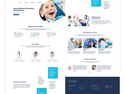 Dentist Web Design dentist web design design ui