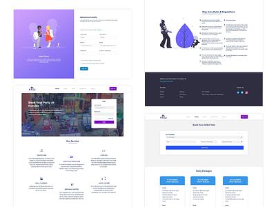 Play Ground Web UI web design design uidesign ui