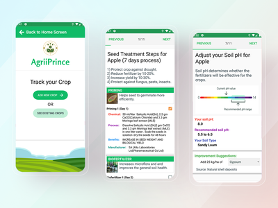 AgriTech App Track Crop mobile design mobile app mobile ui mobile ios app design uidesign uiux ux ui ios app ios design app ux app ui app design app android design android app design android app android