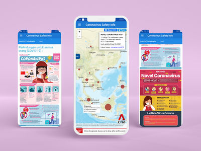 COVID Safety App Indonesia Screens mobile app ux ui mobile ios ios app app ux design app ui app design app android design android app design android app android
