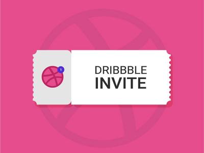 1 Dribbble invite dribbble invitations dribbble invitation uidesign ui ticket invitation card illustration gradient dribbble invite dribbble color