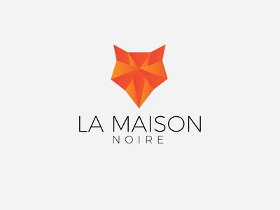 Wolf Polygon Logo