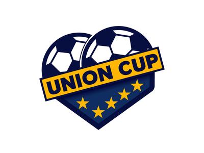 Union Cup Football league Logo Design