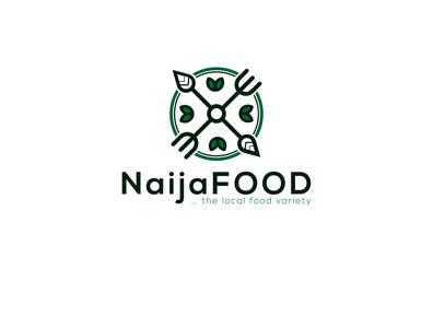 NaijaFOOD logo design