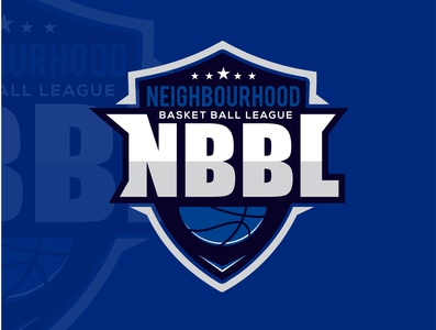 NBBL Basketball Logo design