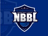 NBBL Basketball Logo design