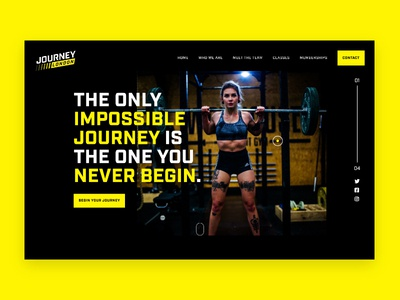Journey London - Crossfit Gym Concept