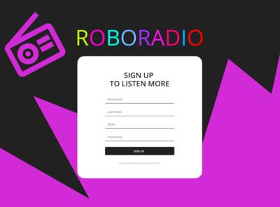 001 Roboradio