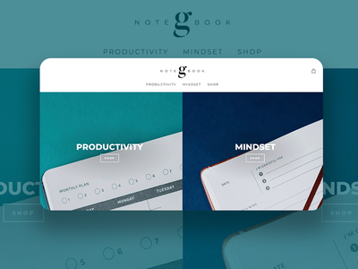 Growth Notebook - Visual Brand Identity and Website Design