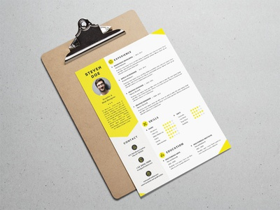 Free Clean Resume Template for Job Seeker print curriculum vitae free resume template free cv free resume resume photoshop psd