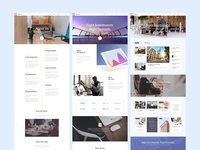 Miequity Free PSD Website Template